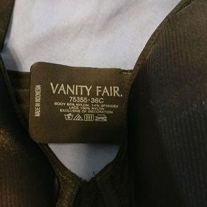 Vanity Fair Intimates & Sleepwear - Vanity Fair black bra new with tags 36C
